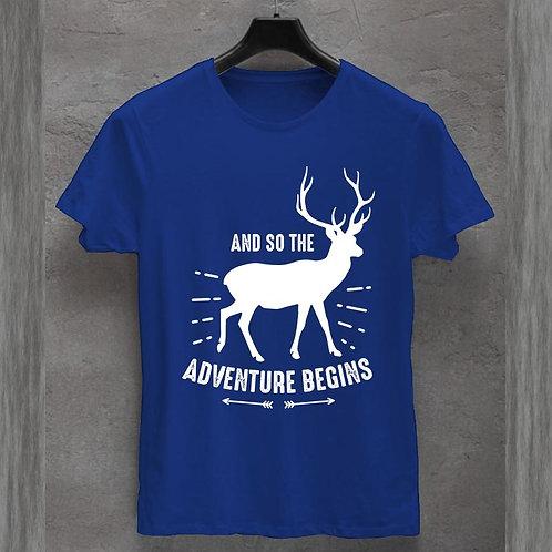 Adventure Begins Tshirt