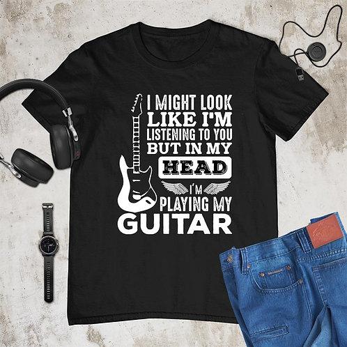 Playing Guitar Tshirt