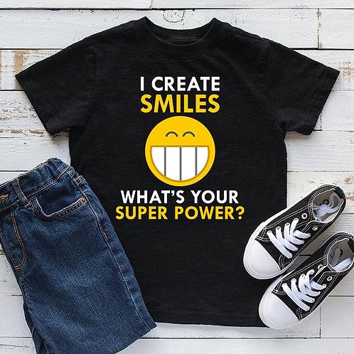 I Create Smiles Unisex Tshirt