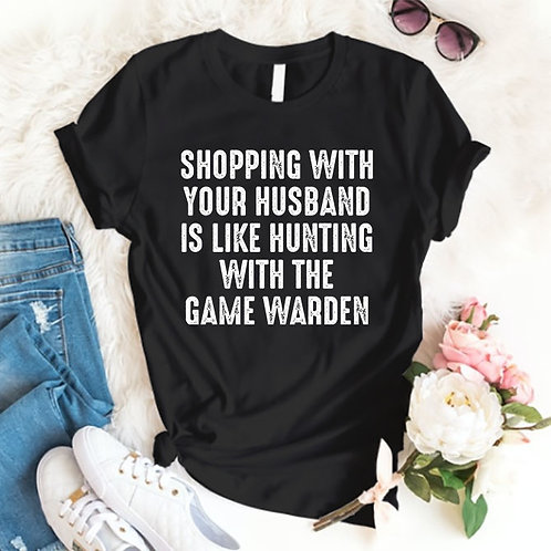 Shopping with Husband Tshirt