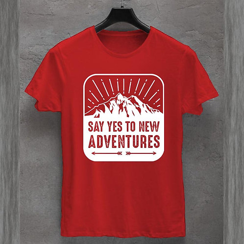 Yes to new adventure Tshirt