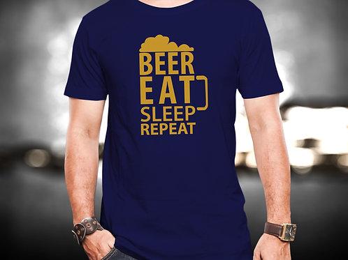 Beer Eat Sleep Unisex Tshirt