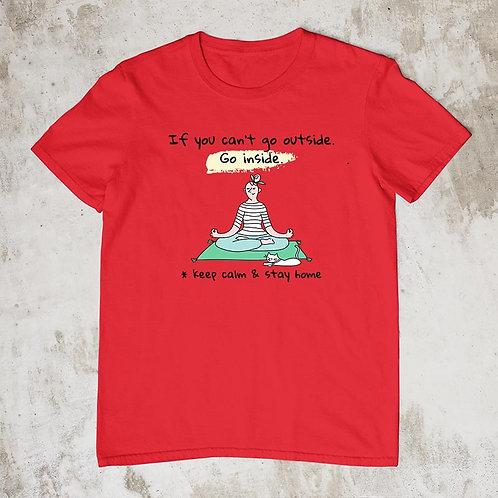 Keep Calm Keep Safe Tshirt