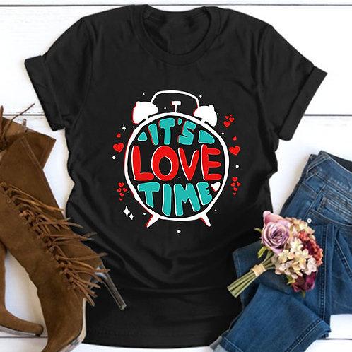 Its Love Time Tshirt