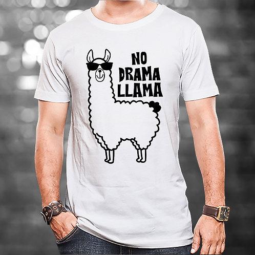 No Drama Llama Unisex Tshirt