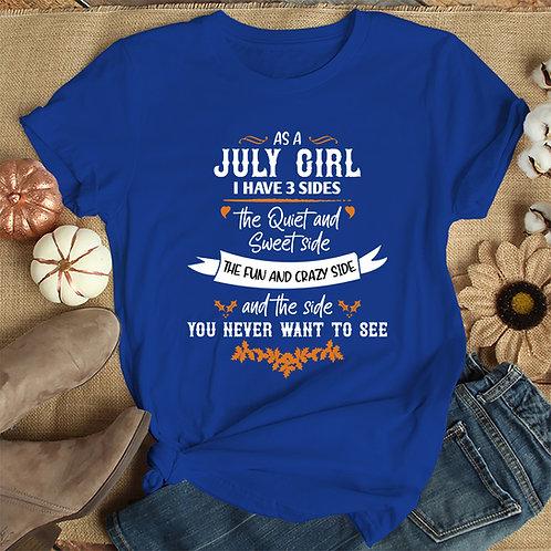 July Girl Tshirt
