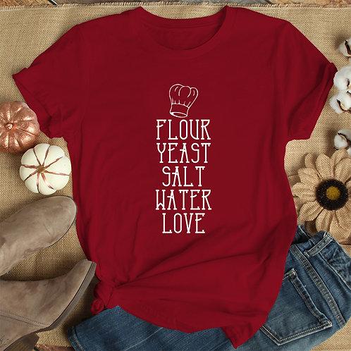 Baking Love Women Premium Tshirt (Unisex Fit)