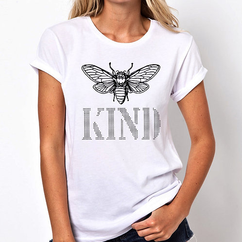 Bee Kind Women Tshirt (Unisex Fit)