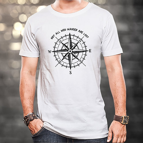 Not All Who Wander Are Lost Unisex Tshirt
