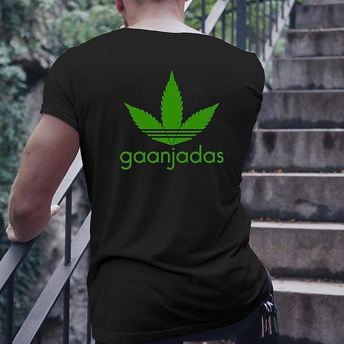 Gaanjadas Back Print Tshirt