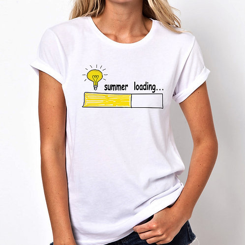 Summer Loading Women Tshirt (Unisex Fit)