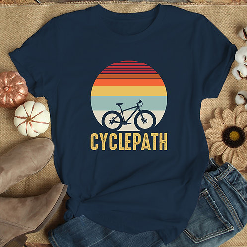 Cyclepath Premium Tshirt (Unisex Fit)