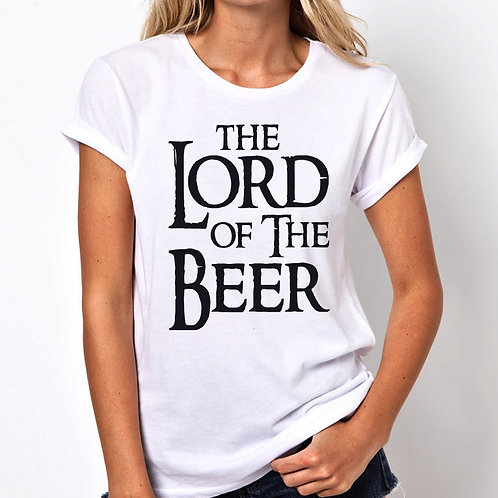 Lord Of The Beer Women Tshirt (Unisex Fit)