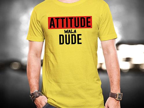 Attitude Wala Dude Unisex Tshirt