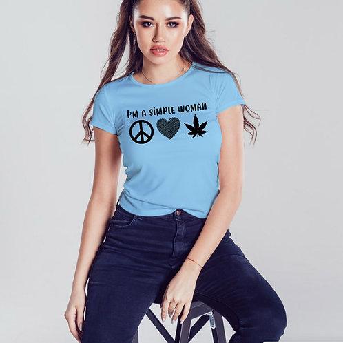 Simple Woman Tshirt