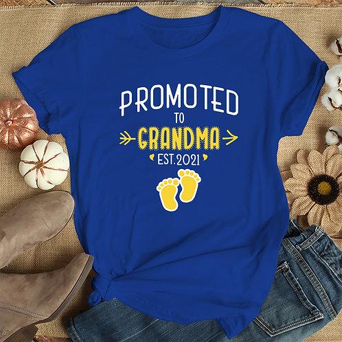 Promoted to Grandma Tshirt