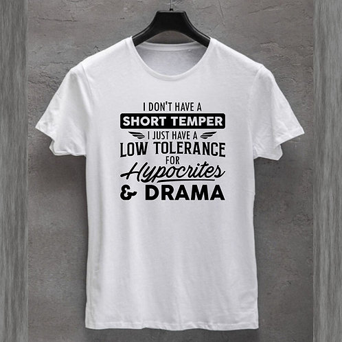 Short Temper Tshirt