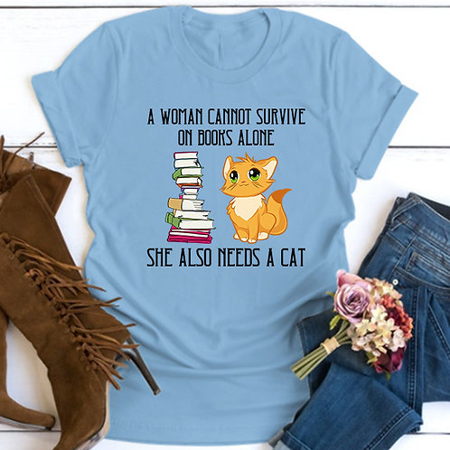 She also needs a Cat tshirt