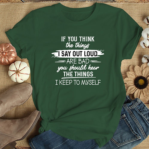 Things I Say Out Loud