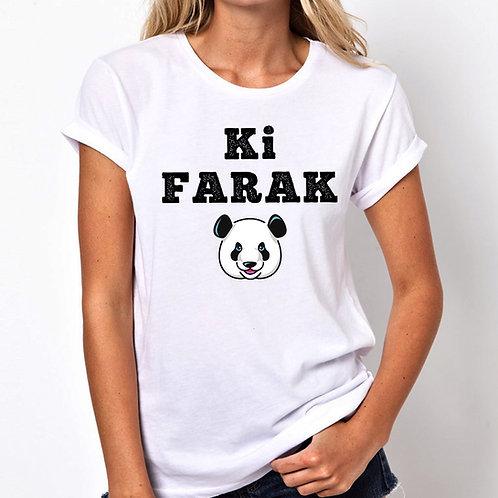 Ki Farak Women Tshirt (Unisex Fit)