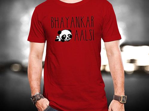 Bhayankar Aalsi Unisex Tshirt