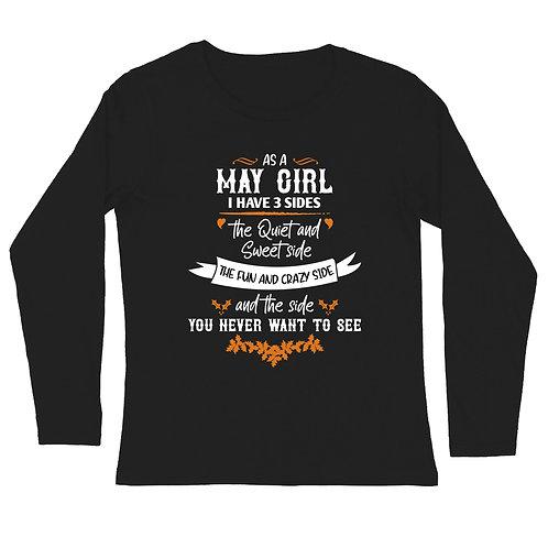 May Girl Full Sleeve Tshirt