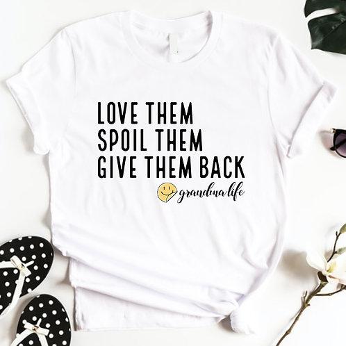 Grandma Life Tshirt