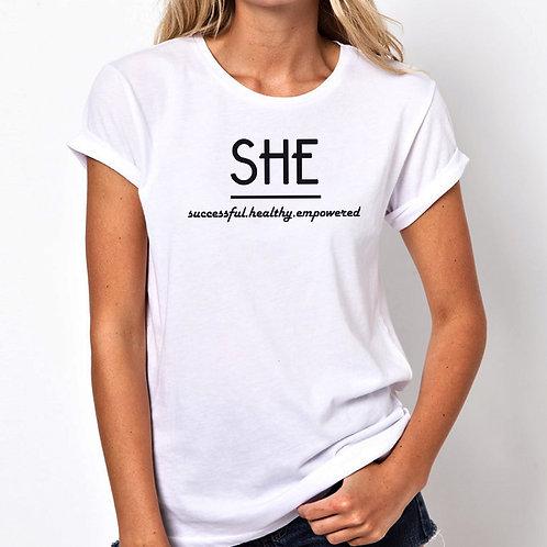 SHE Women Tshirt (Unisex Fit)