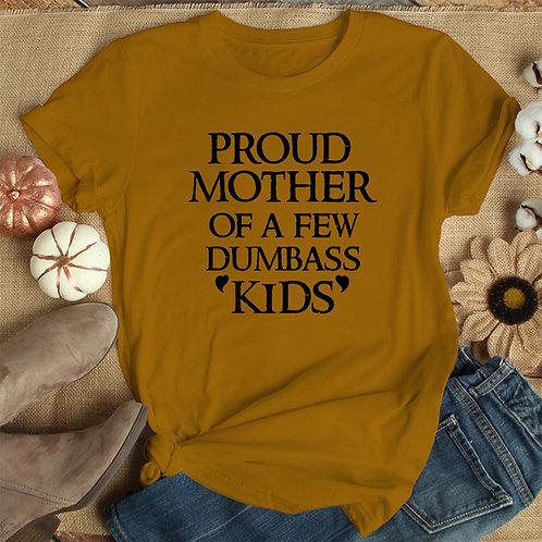 Proud Mother Women Premium Tshirt (Unisex Fit)