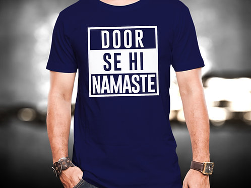 Door Se Hi Namaste Unisex Tshirt