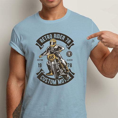 Retro Rider Men Premium Tshirt