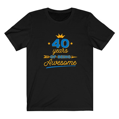 40 Years Awesome