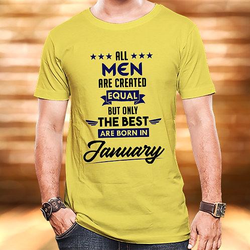 Best Men Are Born in January
