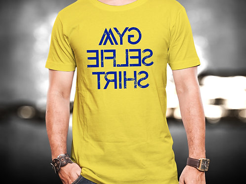 Gym Selfie Fitness Unisex Tshirt