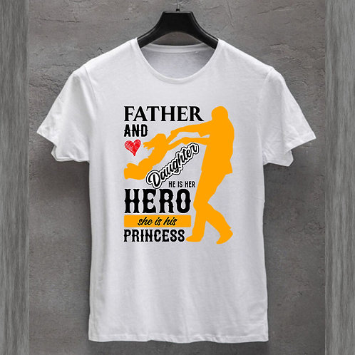 Father and Daughter Tshirt