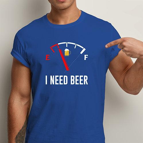 I Need Beer Men Premium Tshirt