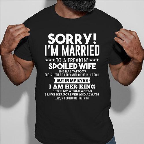 Sorry I am Married