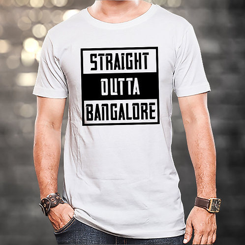 Straight Outta Bangalore Unisex Tshirt