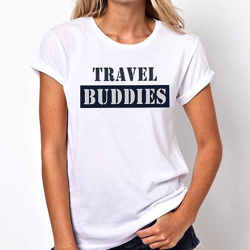 Travel Buddies Women Tshirt (Unisex Fit)