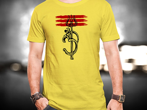 Om Trishul Unisex Tshirt