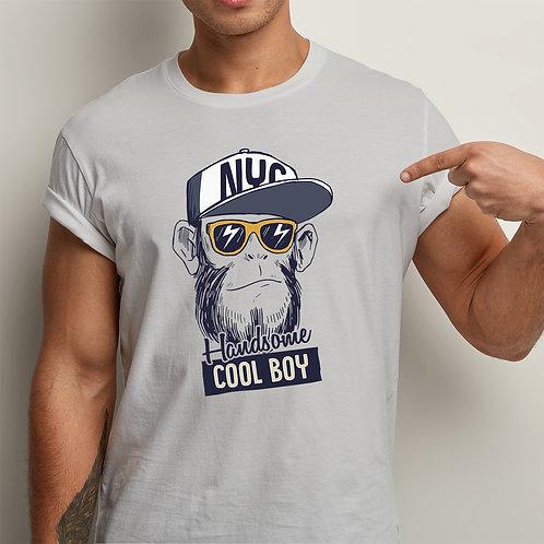 Handsome Cool Boy Men Premium Tshirt