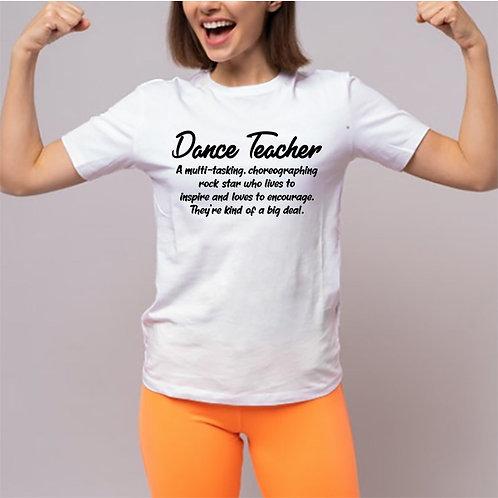 Dance Teacher Tshirt