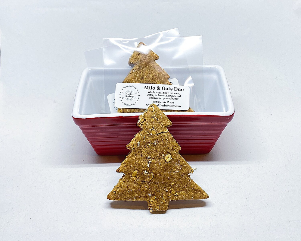 puddles barkery, dog treats, christmas treats, stocking stuffer, dog food