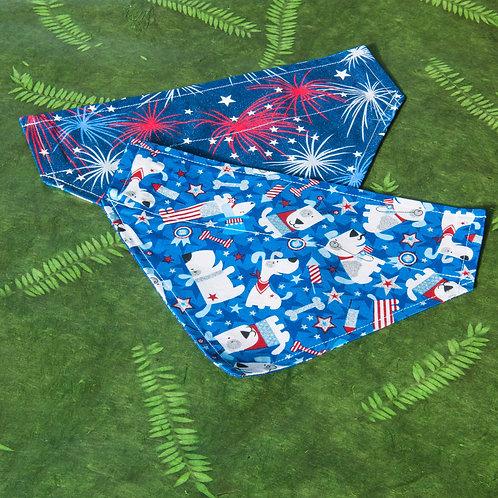 Fourth of July Dog Bandana