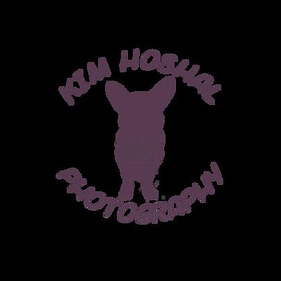 Kim Hoshal Photography logo_round_purple