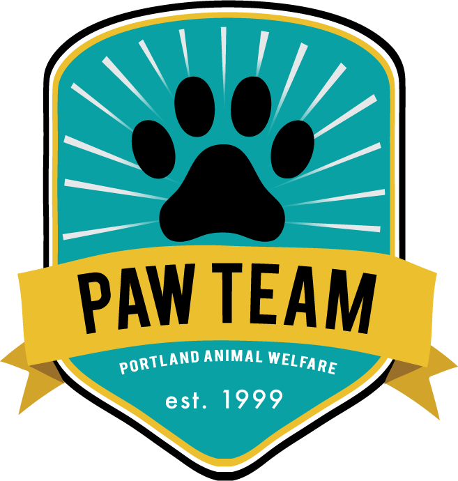 portland animal welfare team, homeless dogs, dog food, vet care, low cost vet care