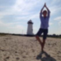 Lighthouse and Yoga