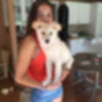 Emily and Sosa pup