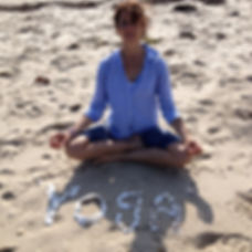 Yoga in the Sand