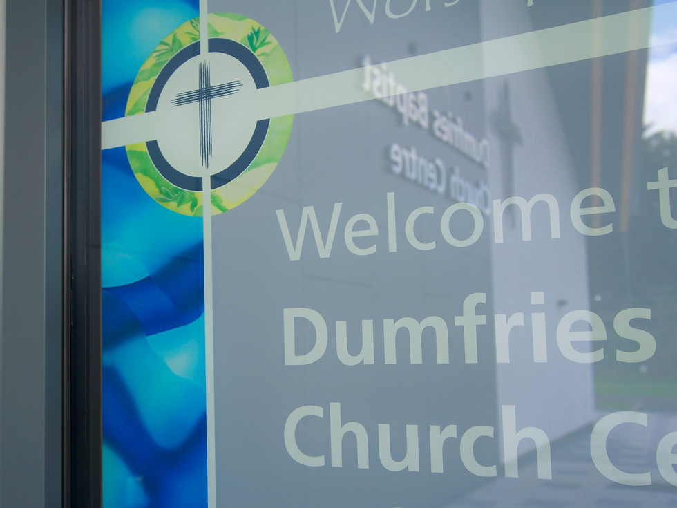 DUMFRIES BAPTIST CHURCH CENTRE